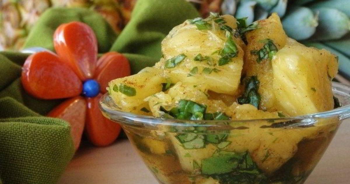 блюдо из ананаса рецепты с фото иммунная система